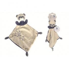 Accueil Nicotoy doudou Nicotoy Panda Bleu plat Panda Bleu Pantin