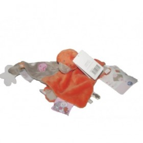 Accueil Noukies Doudou Noukies Canard Orange Iris & Babette Plat