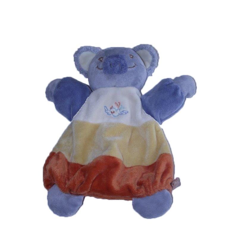 Accueil Noukies Doudou Noukies Koala Jaune Cubi Cubi Marionnette