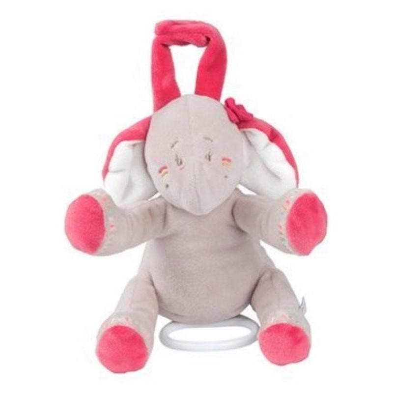 Accueil Noukies Doudou Noukies Elephant Beige Anna Musical