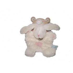 Accueil Babynat doudou Babynat Lapin Blanc BN782 Les Calins Plat