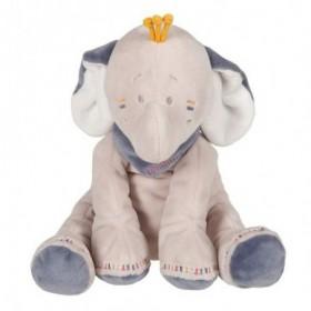 Accueil Noukies doudou Noukies Elephant Bleu 25cms Bao & Wapi Pantin