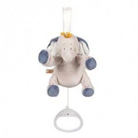 Accueil Noukies doudou Noukies Elephant Bleu Mini 15cms Bao & Wapi Pantin