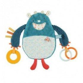 Accueil Noukies doudou Noukies Monstre Bleu Platso Ollie 25cm Ollie Plat