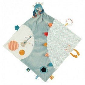 Accueil Noukies doudou Noukies Monstre Bleu 45cms Ollie Couverture