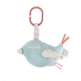 Accueil Noukies doudou Noukies Oiseau Bleu Mini Charlie Musical