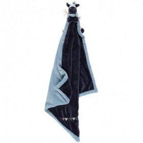 Accueil Noukies doudou Noukies Ane Bleu Achille & Zebrito Couverture