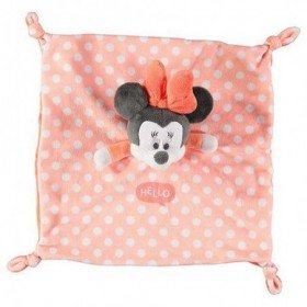 Accueil Orchestra doudou Orchestra Souris Orange Minnie Pois Blanc Hello Minnie Plat