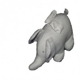 Accueil Petit Bateau Doudou Petit Bateau Elephant Gris 13cms ailes blanches etoile doree Pantin