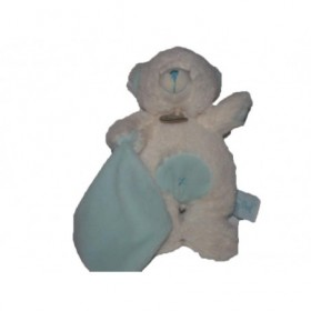 Accueil Babynat doudou Babynat Ours Bleu mouchoir bleu calins BN743 Les Calins Pantin
