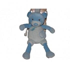 Accueil Babynat doudou Babynat Ours Bleu  Hochet
