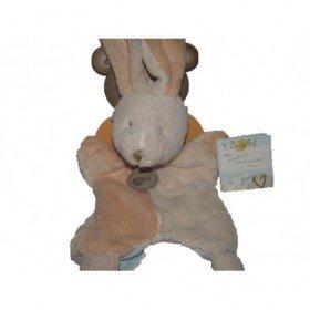 Accueil Babynat doudou Babynat Lapin Beige BN670 Nature Microfibre Marionnette