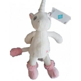 Accueil Tex doudou Tex Licorne Blanc rose 30cms Licorne Pantin