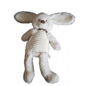 Accueil Tex doudou Tex Lapin Blanc Carrefour CMI Foulard Gris 40cms Pantin