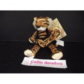 Accueil Z'autres marques Doudou Bukowski Tigre Marron little tiger noir salopette 18cms Pantin