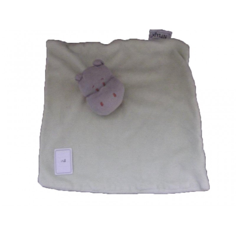 Accueil Z'autres marques Doudou Influx Hippo Vert foulard orange plat