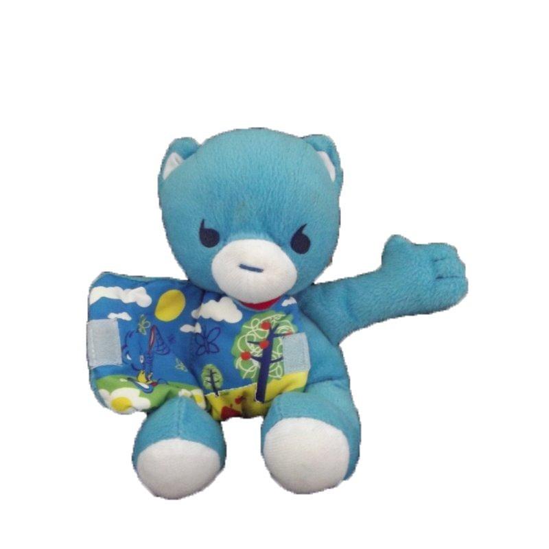 Accueil Z'autres marques Doudou Nestle Ours Bleu livre Pantin