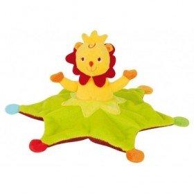 Accueil Babynat doudou Babynat Lion Vert vert BN610KR Roumanoff Plat