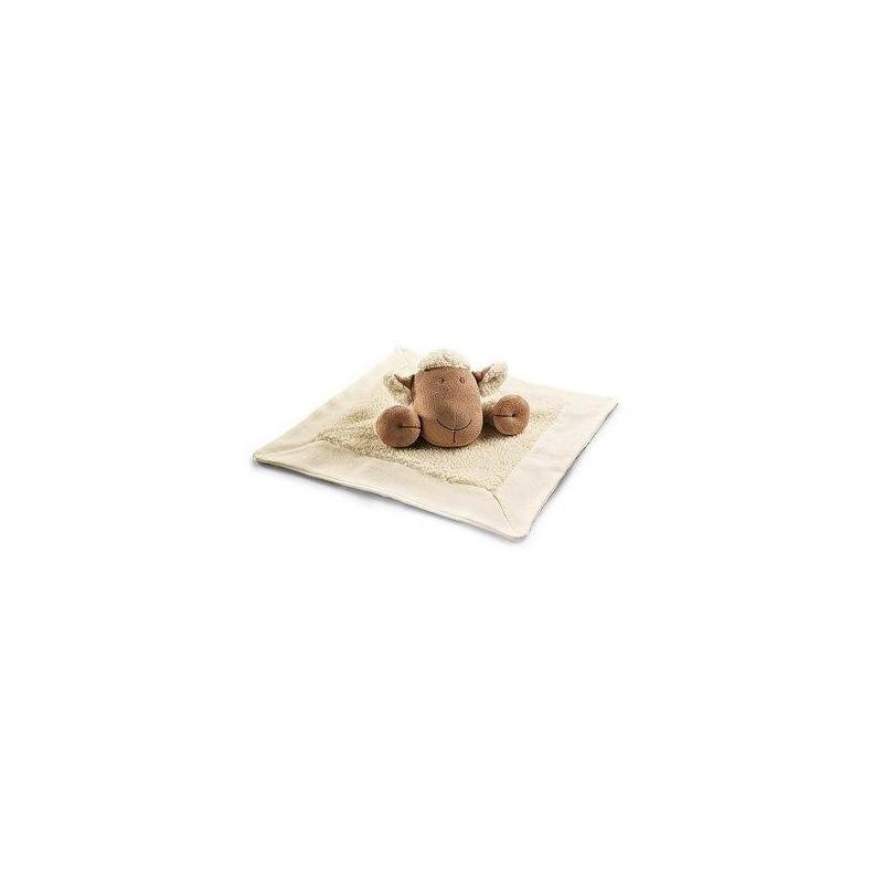 Accueil Z'autres marques Doudou Nature et decouverte Mouton Blanc  plat