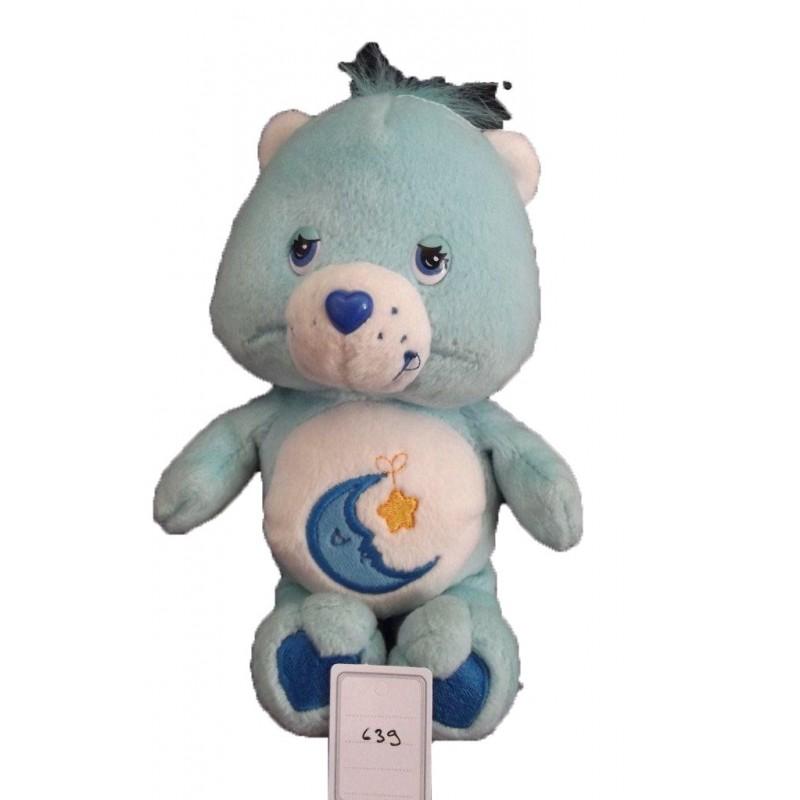Accueil Z'autres marques Doudou Care Bears Ours Bleu bisounours lune et etoile jaune 20cms Pantin