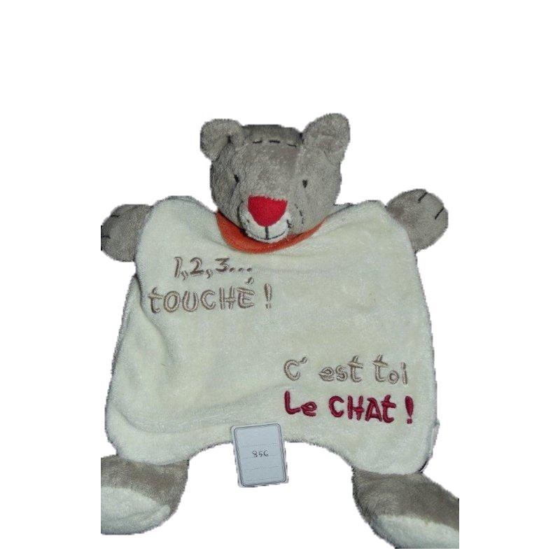 Accueil Z'autres marques Doudou Catimini Chat Beige 123 touche Marionnette
