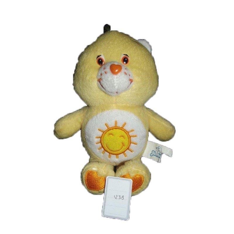 Accueil Z'autres marques Doudou Care Bears Ours Jaune Bisounours soleil  Pantin