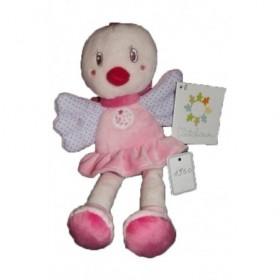 Accueil Z'autres marques Doudou Kiabi Oiseau Rose jambes ailes Pantin