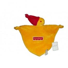 Accueil Z'autres marques Doudou Fisher Price Ours Orange bonnet rouge Plat