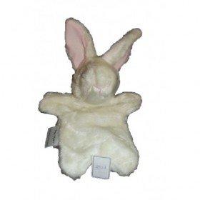Accueil Z'autres marques Doudou trop style Lapin Blanc  Marionnette