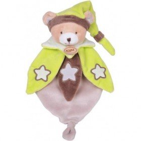 Accueil Babynat doudou Babynat Ours Marron BN042 Les Luminescents Plat