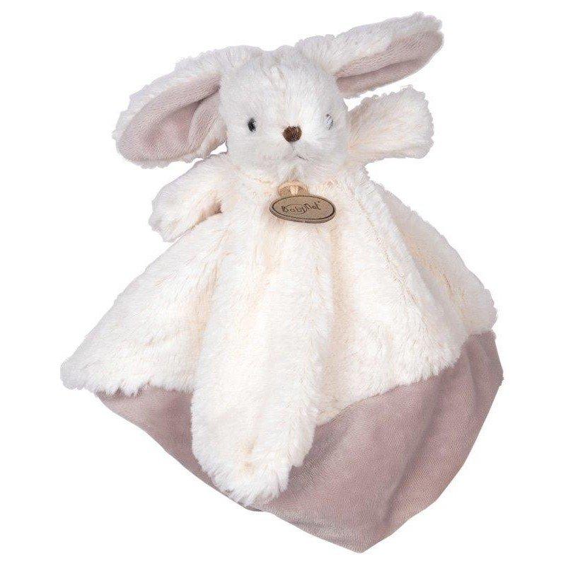 Accueil Babynat doudou Babynat Lapin Blanc BN051 Les Flocons Plat