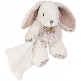 Accueil Babynat doudou Babynat Lapin Blanc BN664 Les Flocons Pantin
