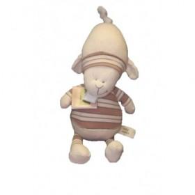 Accueil Z'autres marques Doudou baby basic Mouton Beige  Pantin