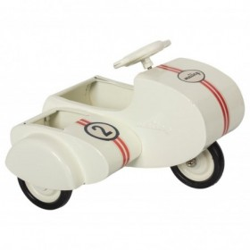 Accueil Maileg Maileg Accessoire Blanc Scooter Sidecar en Métal Blanc Accessoire Accessoire