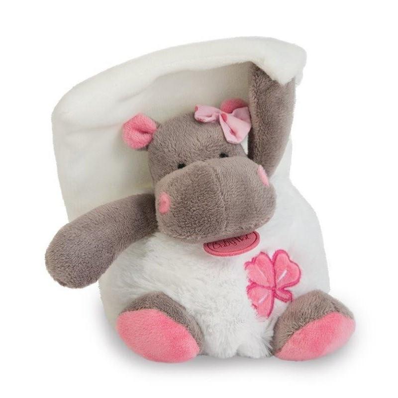 Accueil Babynat doudou Babynat Hippo Blanc Zoe Pantin