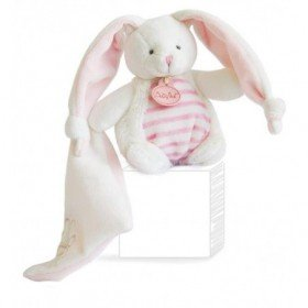 Accueil Babynat doudou Babynat Lapin Rose BN100 Les Tendres Pantin