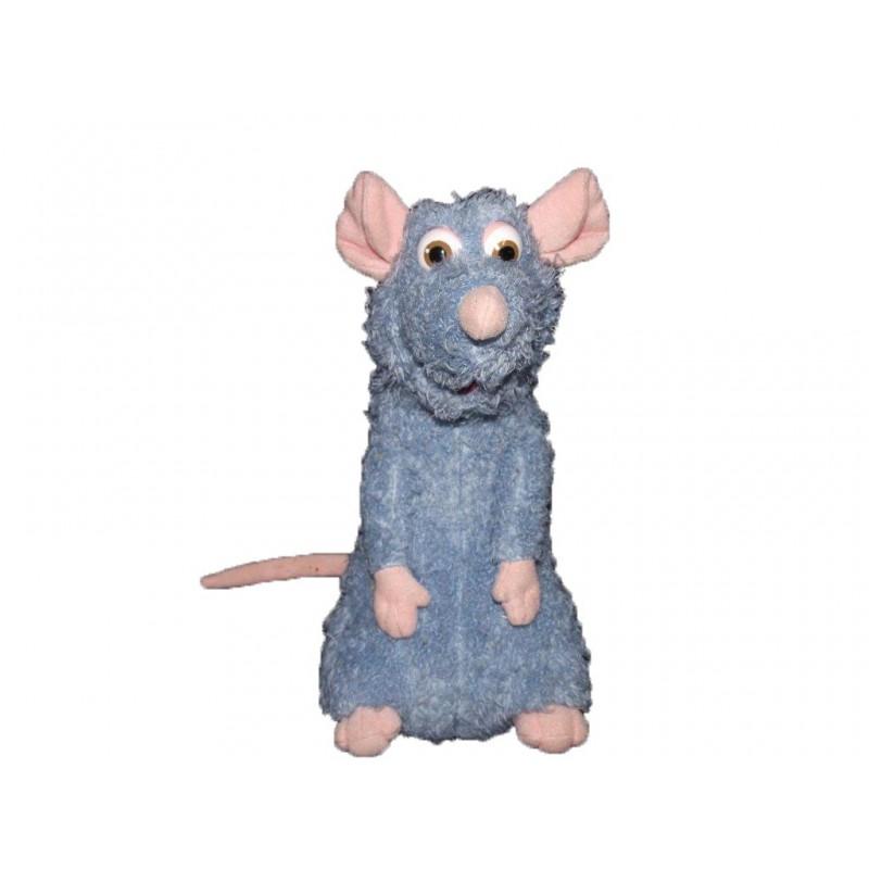 Accueil Z'autres marques Doudou Mattel Souris Bleu Ratatouille (ne parle plus) 24cms Pantin