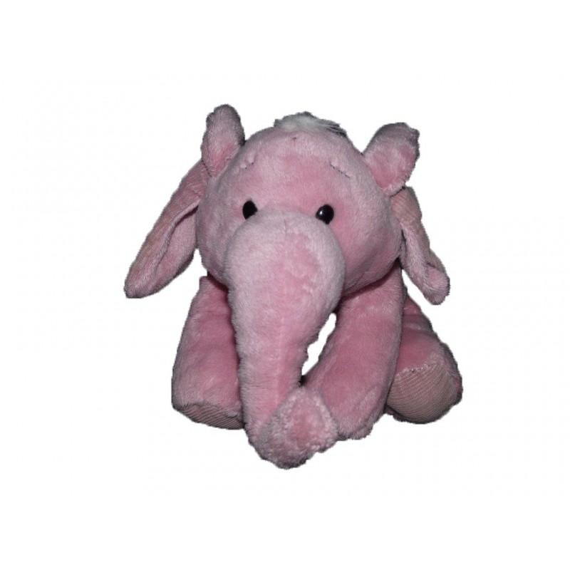 Accueil Z'autres marques Doudou Jemini Elephant Rose  Pantin