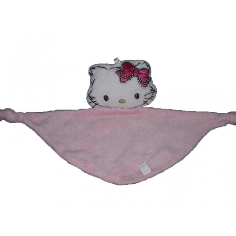 Accueil Z'autres marques Doudou Zot' marques Personnage Rose hello kitty  plat