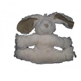 Accueil Z'autres marques Doudou Les petites Marie Lapin Blanc  plat