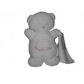 Accueil Z'autres marques Doudou kiabi Ours Blanc mon premier nuage blanc hochet Hochet