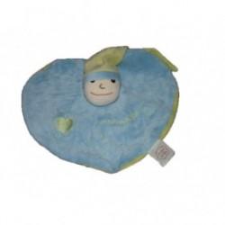 Accueil Z'autres marques Doudou Un reve de bebe cmp Lutin Bleu cœur bleu et vert plat