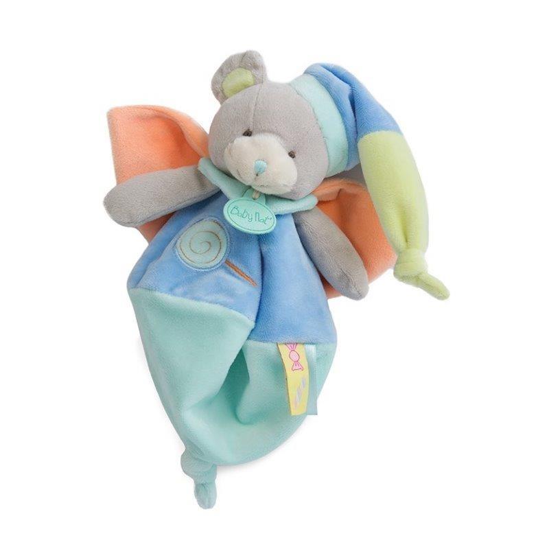 Accueil Babynat doudou Babynat Ours Bleu BN0126 Les Gourmandises Plat