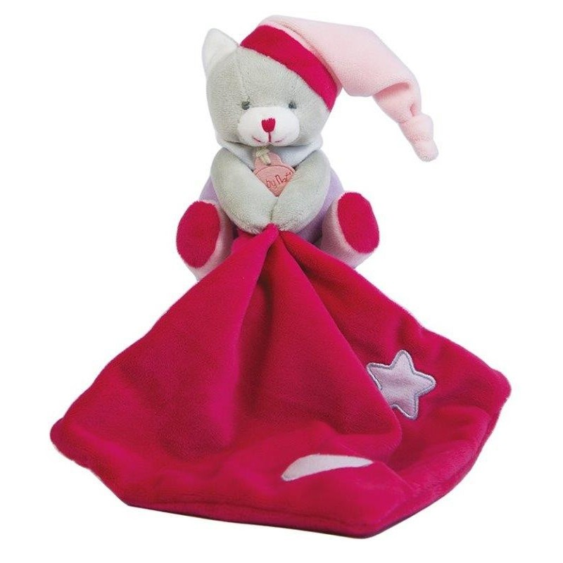Accueil Babynat doudou Babynat Ours Rose BN0137 Les Luminescents Pantin