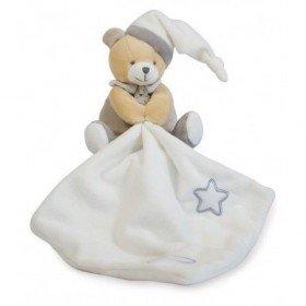 Accueil Babynat doudou Babynat Ours Gris BN0137 Les Luminescents Pantin