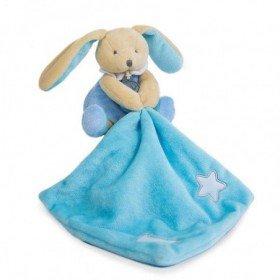 Accueil Babynat doudou Babynat Lapin Bleu BN0137 Les Luminescents Pantin