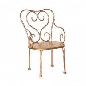 Accueil Maileg Maileg Accessoire Or Chaise Vintage en métal Or Accessoire Accessoire