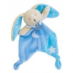 Accueil Babynat doudou Babynat Lapin Bleu BN0138 Les Luminescents Plat