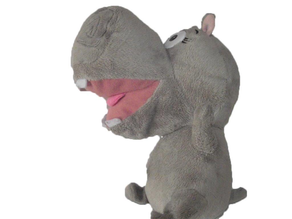 Doudou Histoire d/'ours Hippopotame Girl mauve et rose 25cms HO2628