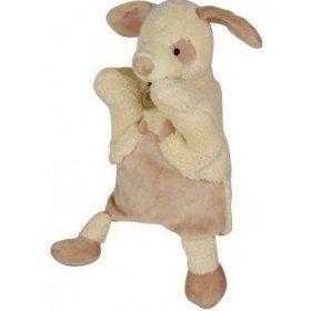 Accueil Babynat doudou Babynat Chien Marron BN670 Nature Microfibre Marionnette
